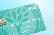 Image of a VISA credit card
