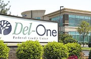 Image of Del-One FCU outdoor banner
