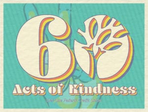 60 Acts of Kindness Teller Card