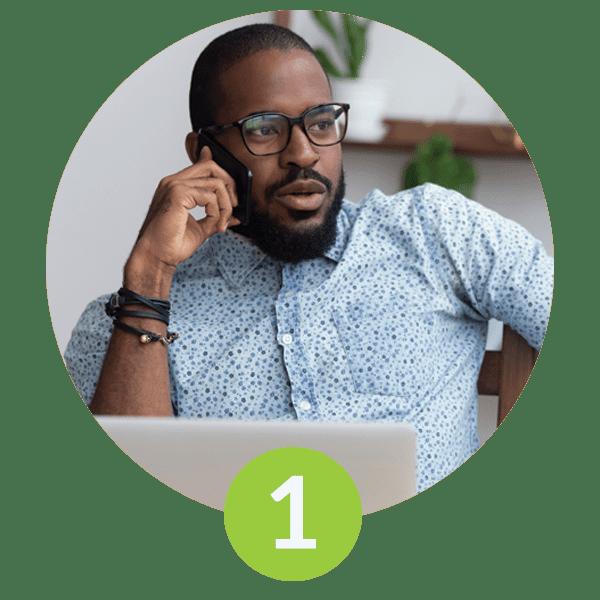 GreenPath Financial Wellness step 1 contact
