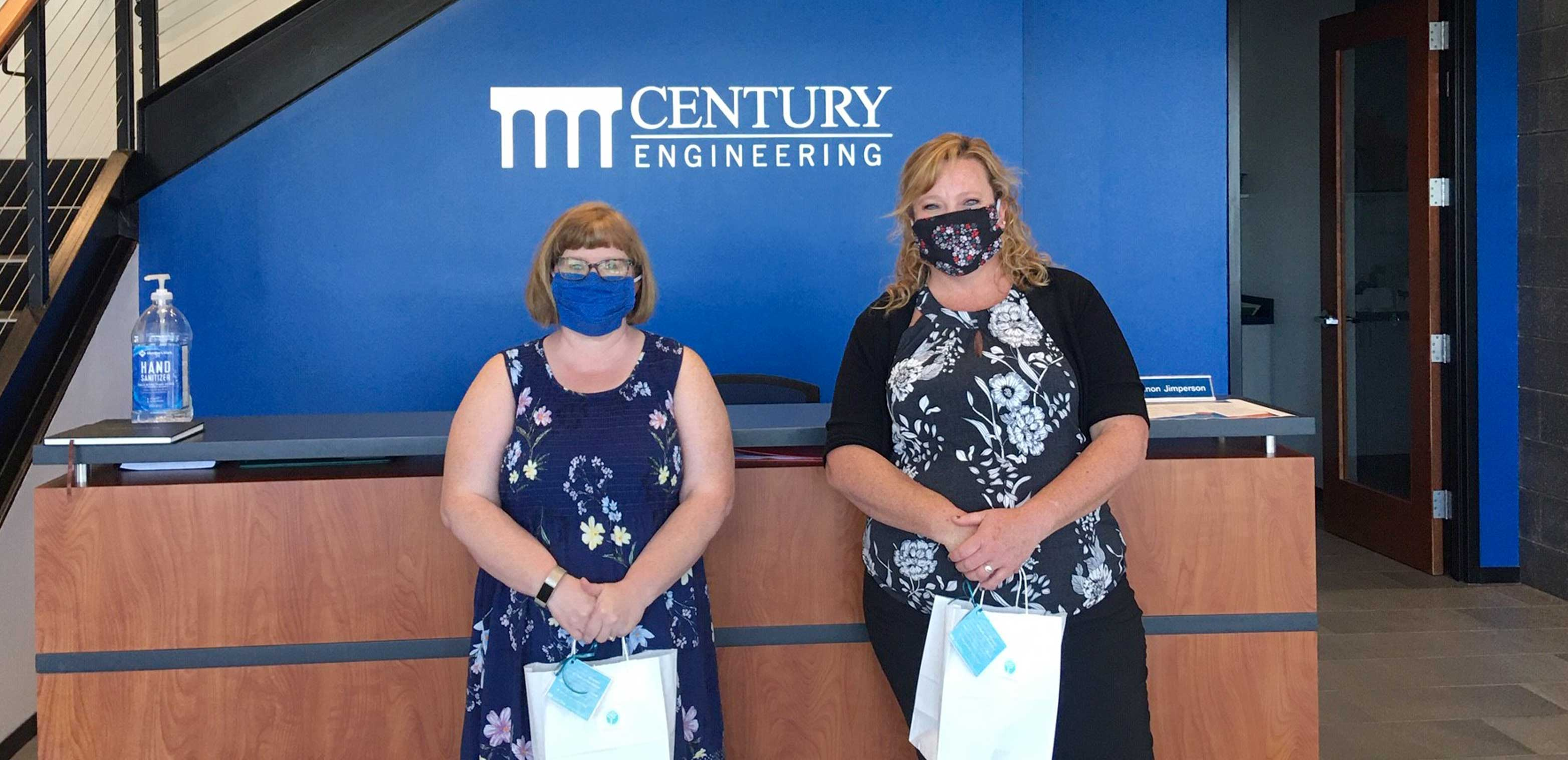 Christina Kilpatrick and Tina Baily of Century Engineering Inc