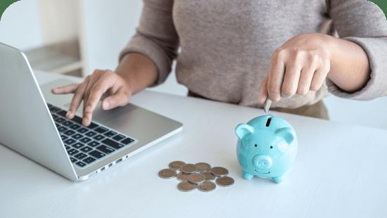 Savings accounts cover